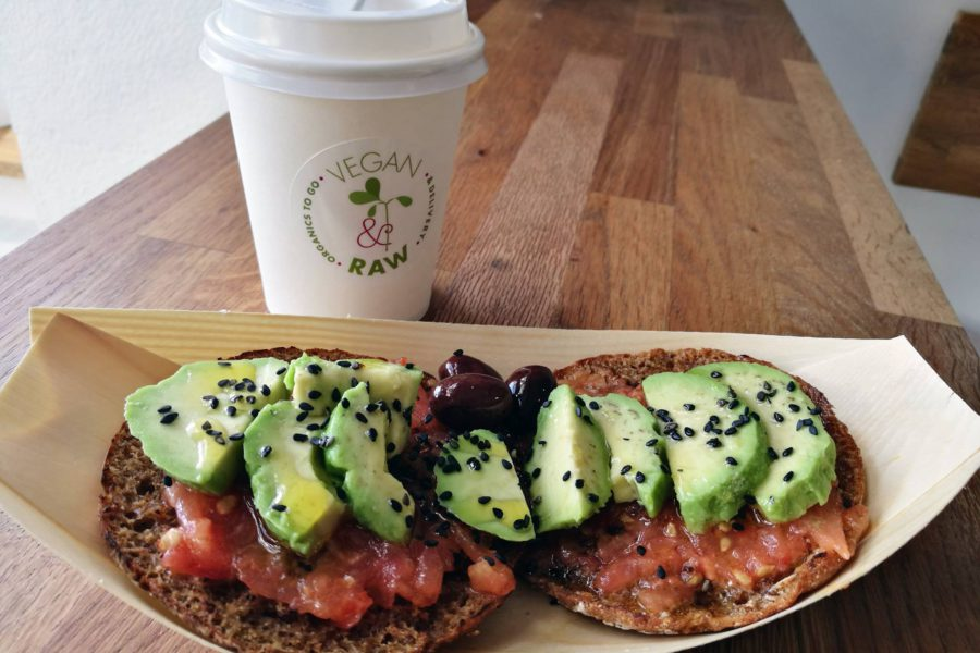 Desayuno Vegan & Raw – Organics to go and delivery
